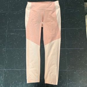 Madewell x Outdoor Voices 3/4 Rose Leggings Size M
